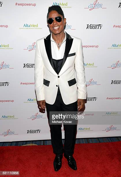 Musician Jermaine Jackson attends the AltaMed Power Up We Are The Future Gala at the Beverly Wilshire Four Seasons Hotel on May 12 2016 in Beverly...