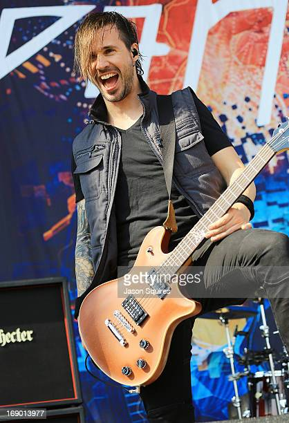 Musician Jerry Horton of Papa Roach performs during 2013 Rock On The Range at Columbus Crew Stadium on May 18 2013 in Columbus Ohio