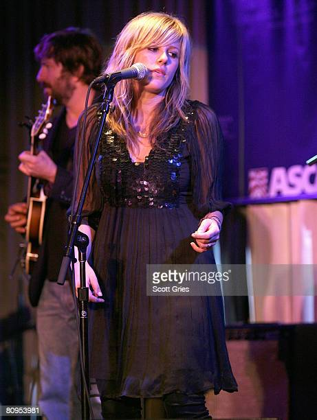 Musician Jesse Baylin performs at the Tribeca ASCAP Music Lounge held at the Canal Room during the 2008 Tribeca Film Festival on May 1, 2008 in New...