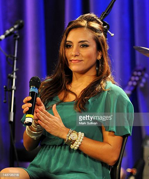 Musician Jessy J onstage during Homegrown: Jessy J at The GRAMMY Museum on May 2, 2012 in Los Angeles, California.