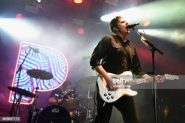Musician Jim Adkins of Jimmy Eat World performs onstage during Pandora at SXSW 2017 on March 15 2017 in Austin Texas