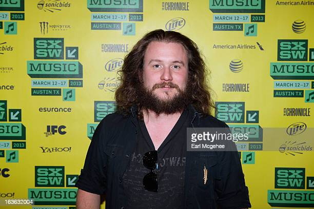 Musician Jim James at SXSW Interview Jim James during the 2013 SXSW Music Film Interactive Festival at Austin Convention Center on March 13 2013 in...