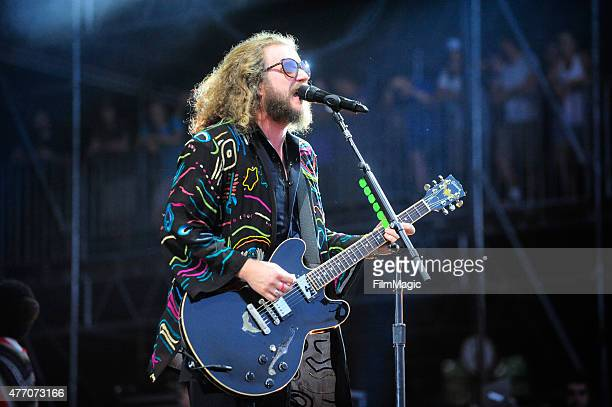 Musician Jim James of My Morning Jacket performs onstage at What Stage during Day 3 of the 2015 Bonnaroo Music And Arts Festival on June 13 2015 in...
