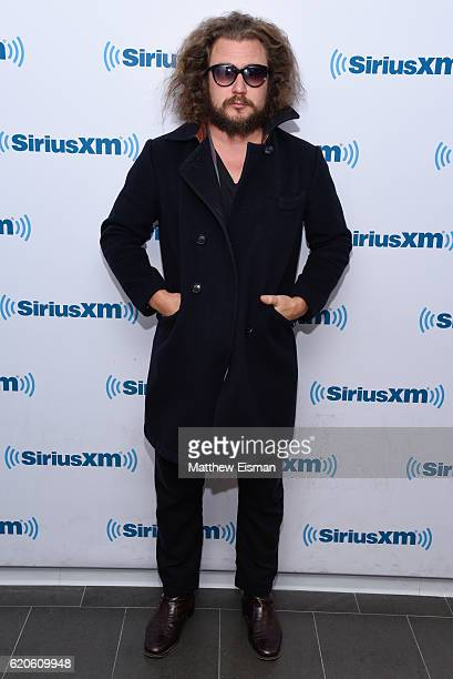 Musician Jim James of the band My Morning Jacket visits the SiriusXM Studio on November 2 2016 in New York City