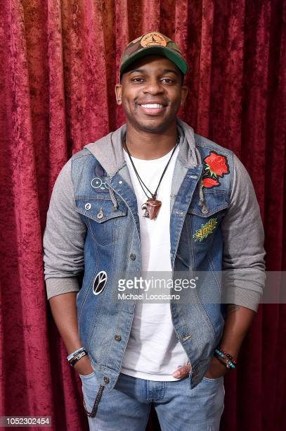 Musician Jimmie Allen visits SiriusXM Studios on October 16 2018 in New York City