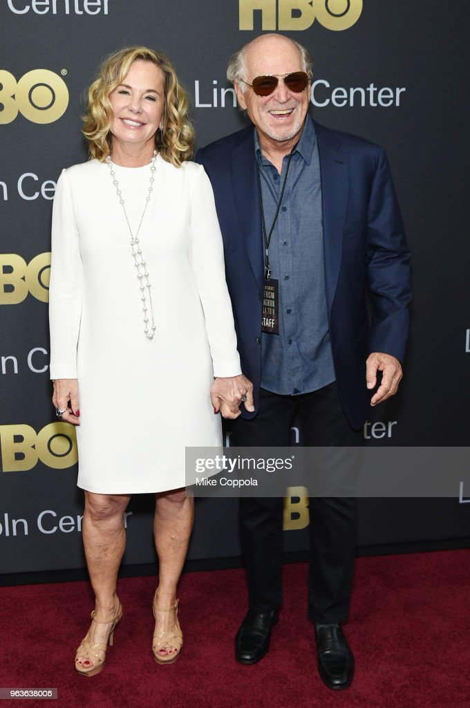 Musician Jimmy Buffett (R) and Jane Slagsvol attend Lincoln Center's American Songbook Gala at Alice Tully Hall on May 29, 2018 in New York City.