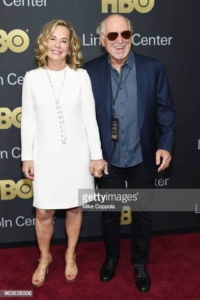 Musician Jimmy Buffett and Jane Slagsvol attend Lincoln Center's American Songbook Gala at Alice Tully Hall on May 29 2018 in New York City