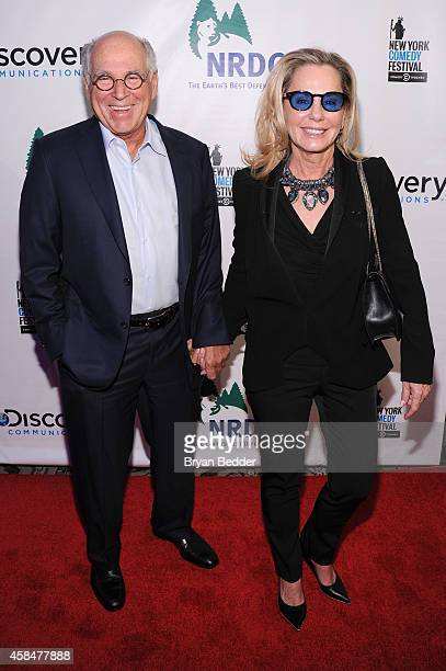 Musician Jimmy Buffett and Jane Slagsvol attend NRDC's Night Of Comedy benefiting the Natural Resources Defense Council at 583 Park Ave on November 5...