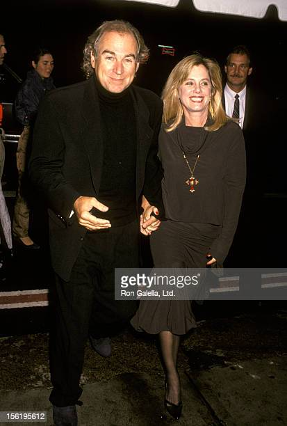 Musician Jimmy Buffett and Jane Slagsvol attend Random House Dinner Party For Richard Avedon on September 27 1993 at the New York Public Library in...