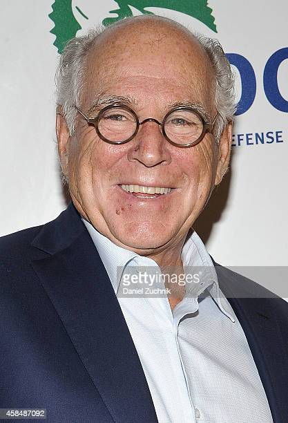 Musician Jimmy Buffett attends NRDC's 'Night Of Comedy' benefiting the Natural Resources Defense Council at 583 Park Ave on November 5, 2014 in New...