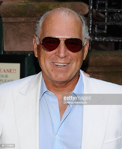 Musician Jimmy Buffett attends the Gonzo The Life and Work of Dr Hunter S Thompson New York Premiere on June 25 2008 at The Waverly Inn in New York