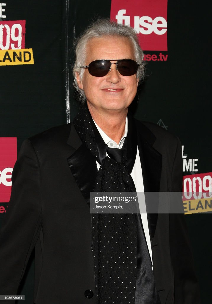 Musician Jimmy Page attends the 24th Annual Rock and Roll Hall of Fame Induction Ceremony at Public Hall on April 4, 2009 in Cleveland, Ohio.