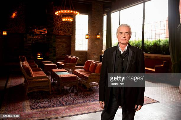 Musician Jimmy Page is photographed for USA Today on May 14 2014 in New York City