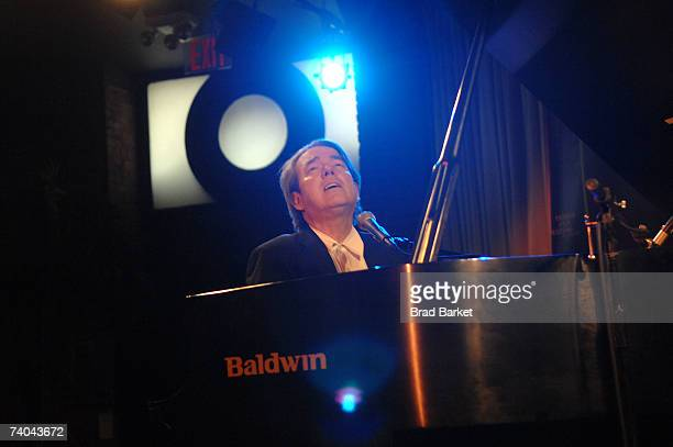 Musician Jimmy Webb onstage at the ASCAP Tribeca Music Lounge held at the Canal Room during the 2007 Tribeca Film Festival on May 1, 2007 in New York...