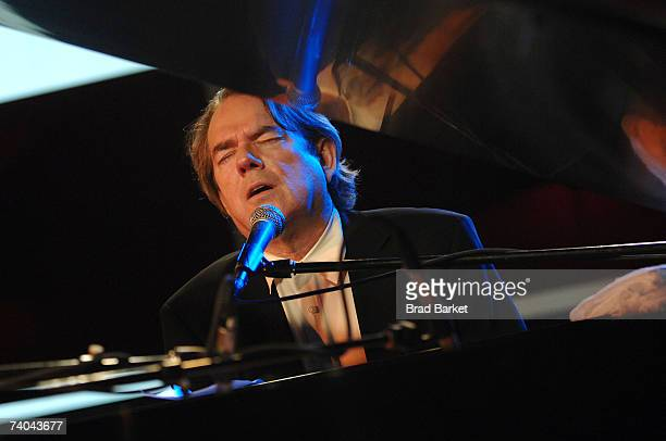 Musician Jimmy Webb onstage at the ASCAP Tribeca Music Lounge held at the Canal Room during the 2007 Tribeca Film Festival on May 1 2007 in New York...