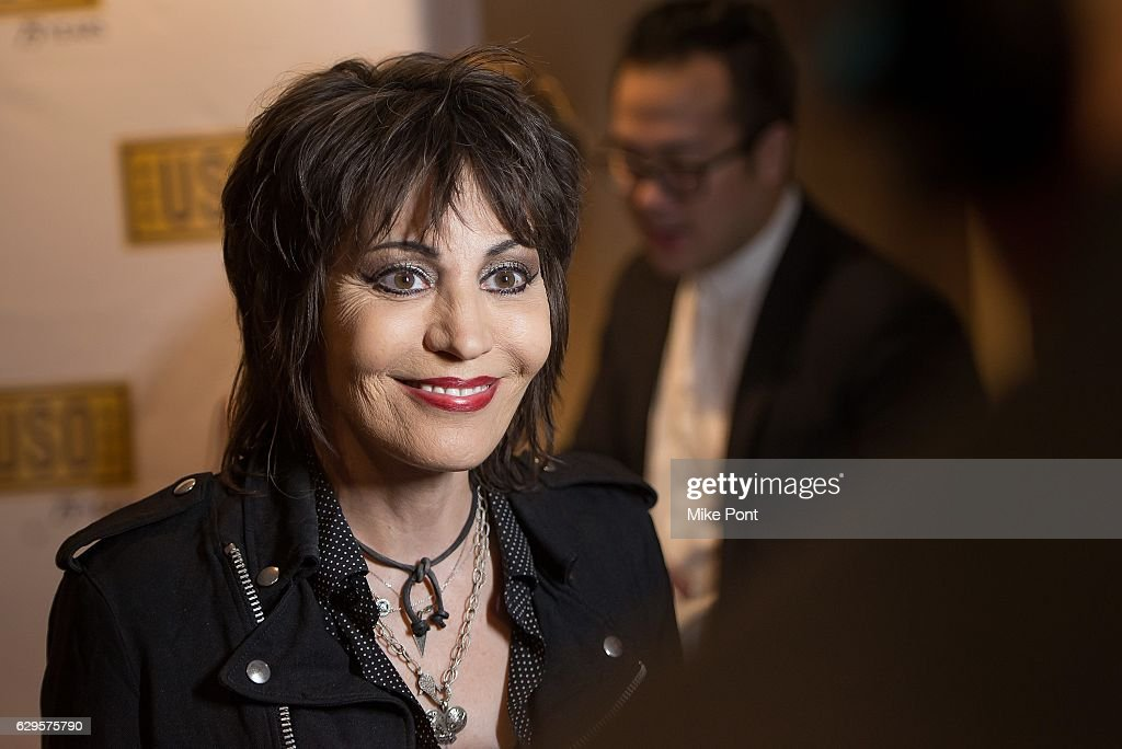 Musician Joan Jett attends the 75th Anniversary USO Armed Forces Gala at the Marriott Marquis Hotel on December 13, 2016 in New York City.