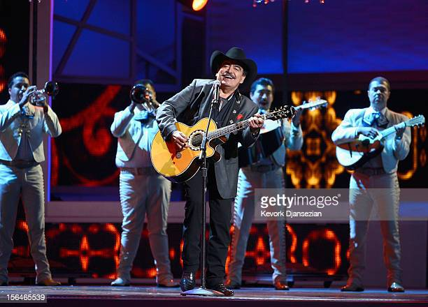 Musician Joan Sebastian peforms onstage during the 13th annual Latin GRAMMY Awards held at the Mandalay Bay Events Center on November 15 2012 in Las...