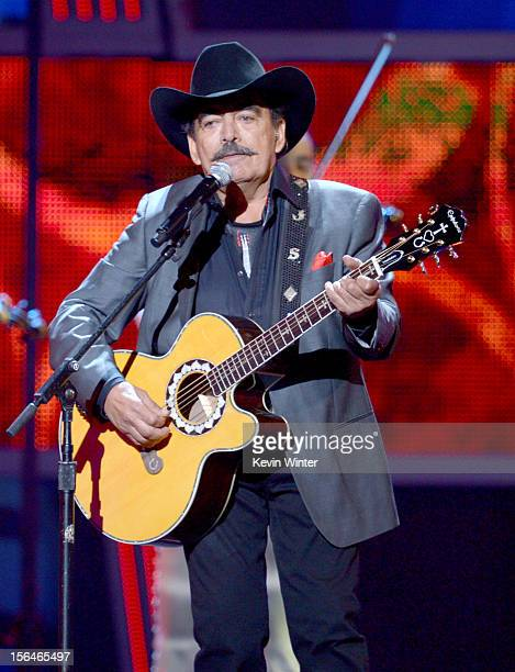 Musician Joan Sebastian performs onstage during the 13th annual Latin GRAMMY Awards held at the Mandalay Bay Events Center on November 15 2012 in Las...