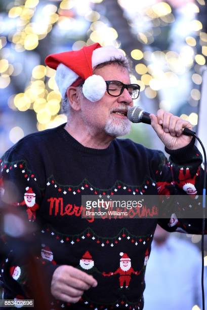 Musician Jocko Marcellino of the band Sha Na Na performs at The Grove on November 30 2017 in Los Angeles California