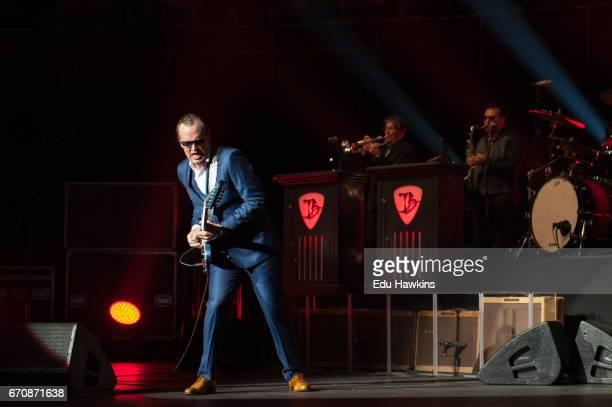 Musician Joe Bonamassa performs at The Royal Albert Hall on April 20 2017 in London United Kingdom