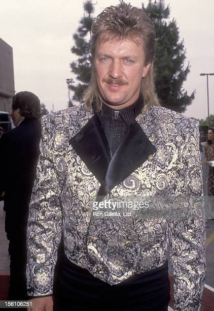 Musician Joe Diffie attends the 27th Annual Academy of Country Music Awards on May 29 1992 at Universal Amphitheatre in Universal City California