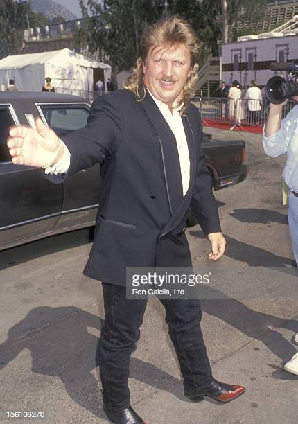 Musician Joe Diffie attends the 29th Annual Academy of Country Music Awards on May 3 1994 at Universal Amphitheatre in Universal City California