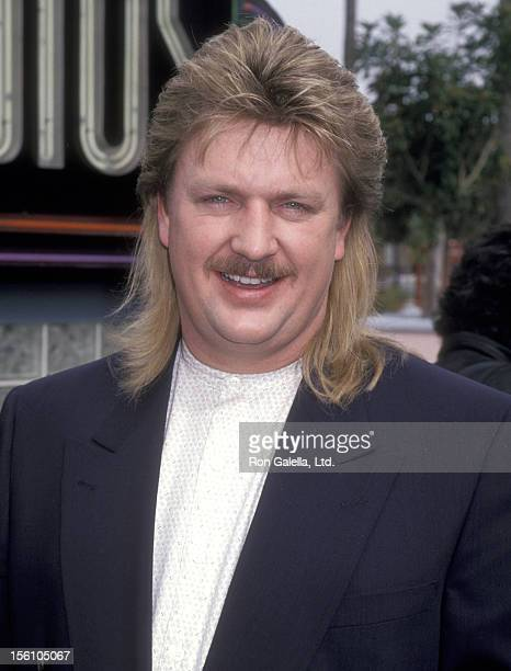 Musician Joe Diffie attends the 30th Annual Academy of Country Music Awards Nominations Announcements on February 27 1995 at Universal Studios in...