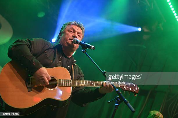 Musician Joe Diffie performs during Tootsie's Orchid Lounge 54th Birthday Bash at Tootsie's Orchid Lounge on November 12, 2014 in Nashville,...