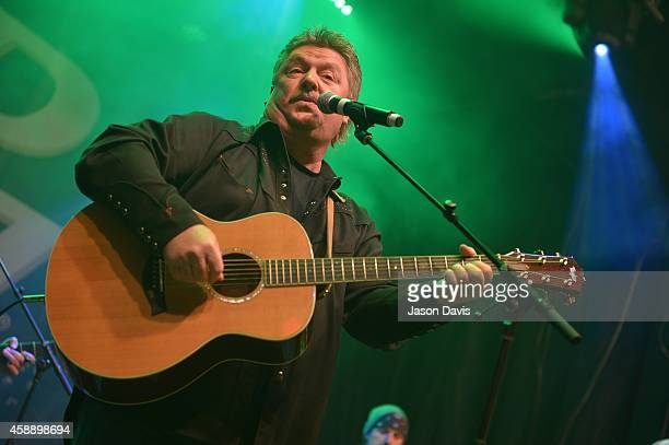 Musician Joe Diffie performs during Tootsie's Orchid Lounge 54th Birthday Bash at Tootsie's Orchid Lounge on November 12 2014 in Nashville Tennessee
