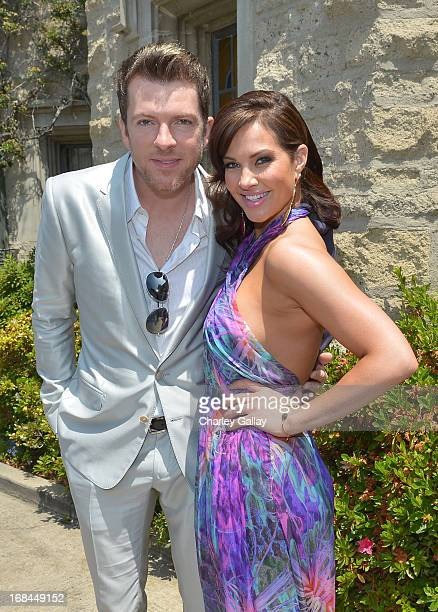Musician Joe Don Rooney and former playmate Tiffany Fallon attend Playboy's 2005 Playmate Of The Year Luncheon at The Playboy Mansion on May 9 2013...
