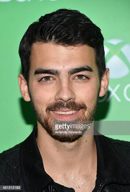 Musician Joe Jonas arrives at the Xbox One official launch celebration at Milk Studios on November 21 2013 in Hollywood California