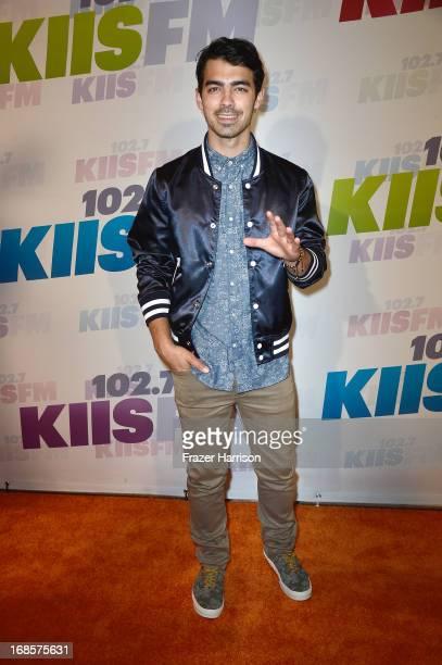 Musician Joe Jonas attends 1027 KIIS FM's Wango Tango 2013 held at The Home Depot Center on May 11 2013 in Carson California