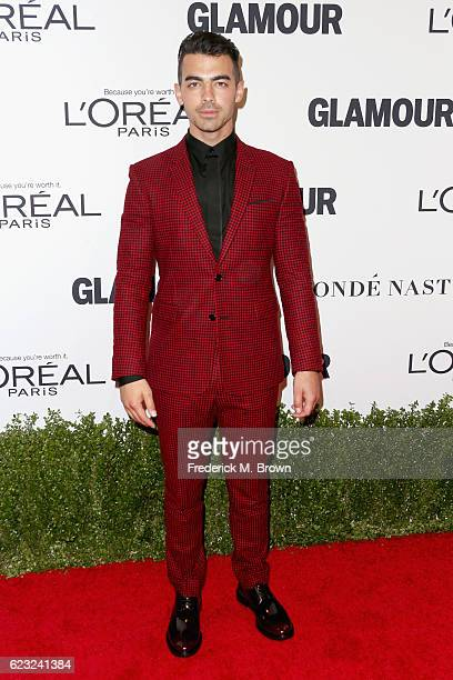 Musician Joe Jonas attends Glamour Women Of The Year 2016 at NeueHouse Hollywood on November 14 2016 in Los Angeles California