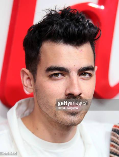 Musician Joe Jonas of DNCE attends the grand opening of Westfield Century City at Westfield Century City on October 3 2017 in Century City California