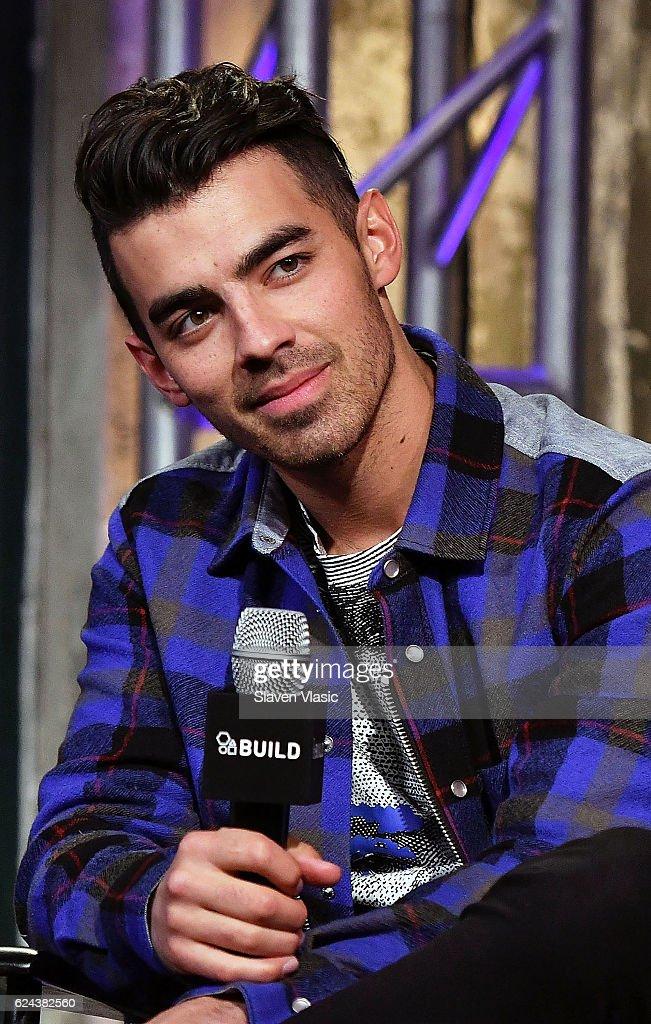 Musician Joe Jonas of 'DNCE' visits AOL BUILD at AOL HQ on November 18, 2016 in New York City.