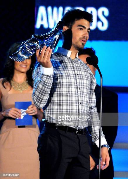 Musician Joe Jonas onstage at the 2010 VH1 Do Something! Awards held at the Hollywood Palladium on July 19, 2010 in Hollywood, California.