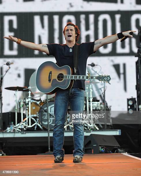 Musician Joe Nichols performs at the 2015 FarmBorough Festival Day 1 at Randall's Island on June 26 2015 in New York City