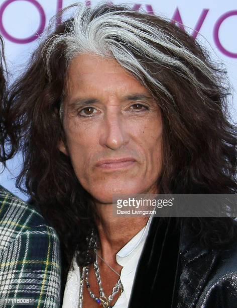 Musician Joe Perry attends Opening Night at The Hollywood Bowl 2013 at The Hollywood Bowl on June 22 2013 in Los Angeles California