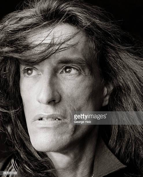 Musician Joe Perry is photographed for Best Life Magazine on March 10 2006 at Industria Studios in New York City