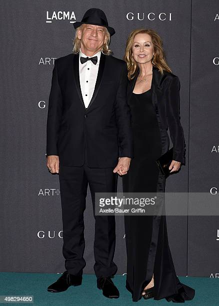 Musician Joe Walsh and Marjorie Bach arrive at the LACMA 2015 ArtFilm Gala Honoring James Turrell And Alejandro G Inarritu Presented By Gucci at...