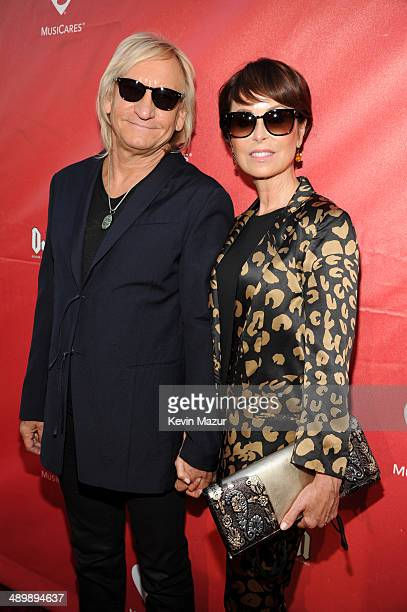 Musician Joe Walsh and Marjorie Bach attend the 10th annual MusiCares MAP Fund Benefit Concert to raise funds for MusiCares' addiction recovery...