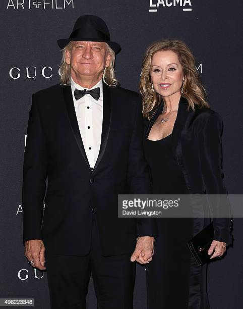 Musician Joe Walsh and wife Marjorie Bach attend the LACMA Art Film Gala honoring Alejandro G Iñárritu and James Turrell and presented by Gucci at...