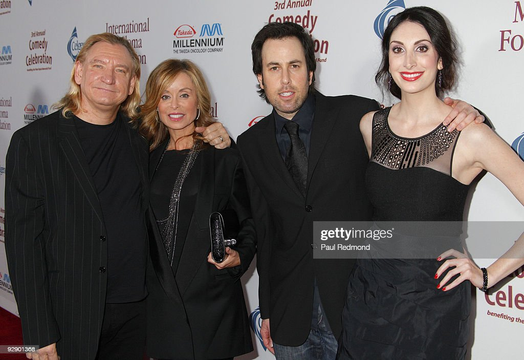 Musician Joe Walsh And Wife Marjorie Bach With Adam Nor Ashley Kirschner Arrive