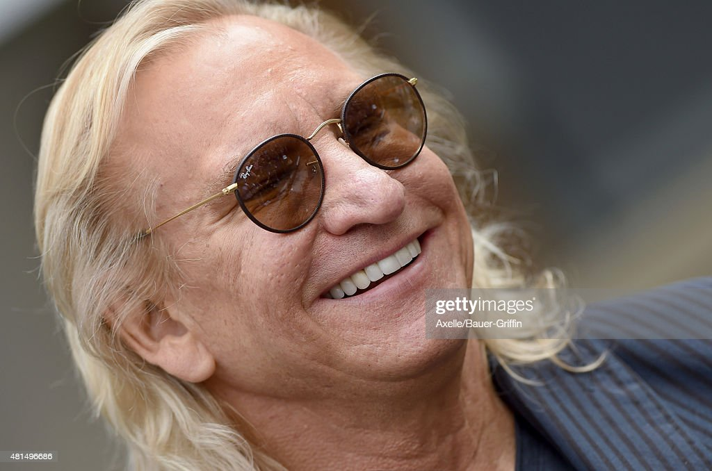 Musician Joe Walsh attends Ringo Starr's birthday fan gathering at Capitol Records on July 7, 2015 in Hollywood, California.