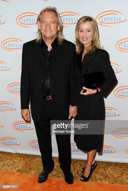 Musician Joe Walsh of 'The Eagles' and wife Marjorie Bach attend the 10th Annual Lupus LA Orange Ball at the Beverly Wilshire Four Seasons Hotel on...