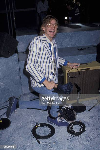 Musician Joe Walsh of The Eagles attending 40th Anniversary of American Bandstand on March 25 1992 at ABC Studios in Hollywood California