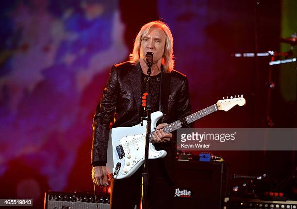 Musician Joe Walsh performs onstage during The Night That Changed America A GRAMMY Salute To The Beatles at the Los Angeles Convention Center on...