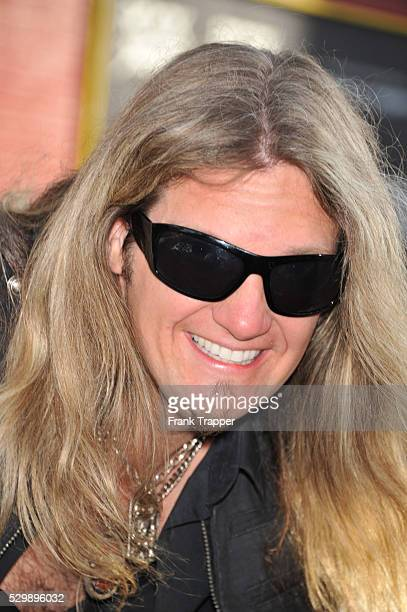 Musician Joel Hoekstra arrives at the world premiere of Rock of Ages held at Grauman's Chinese Theater in Hollywood
