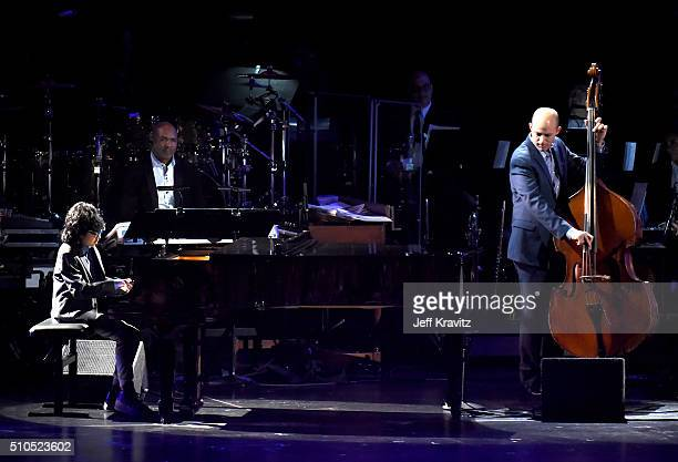 Musician Joey Alexander performs onstage during The 58th GRAMMY Premiere Ceremony at Los Angeles Convention Center on February 15 2016 in Los Angeles...
