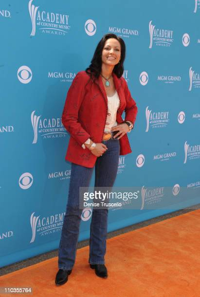 Musician Joey Martin of the band Joey + Rory arrive for the 45th Annual Academy of Country Music Awards at the MGM Grand Garden Arena on April 18,...